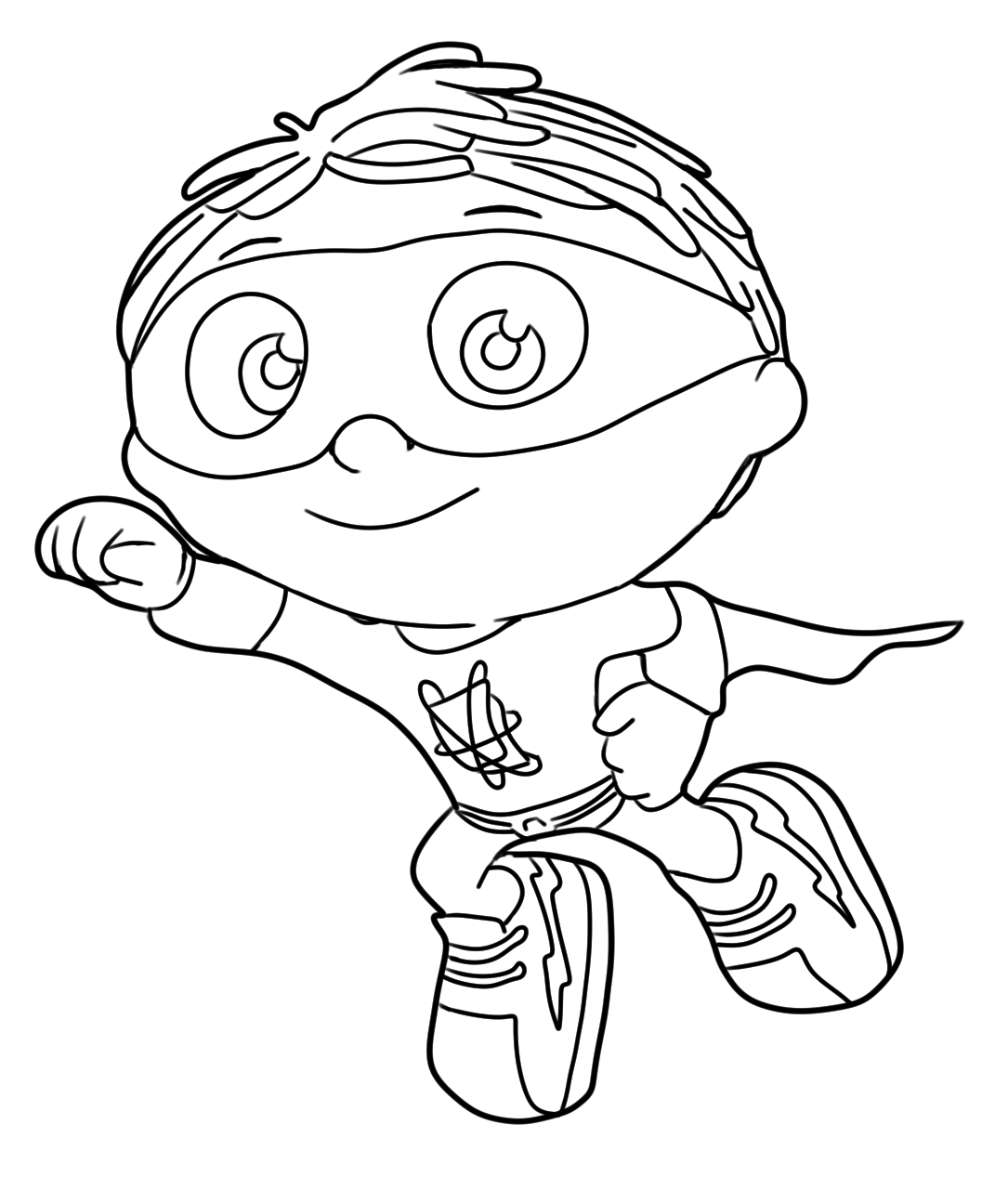 1085x1295 Super Why Coloring Pages Free Download Coloring Pages For Kids