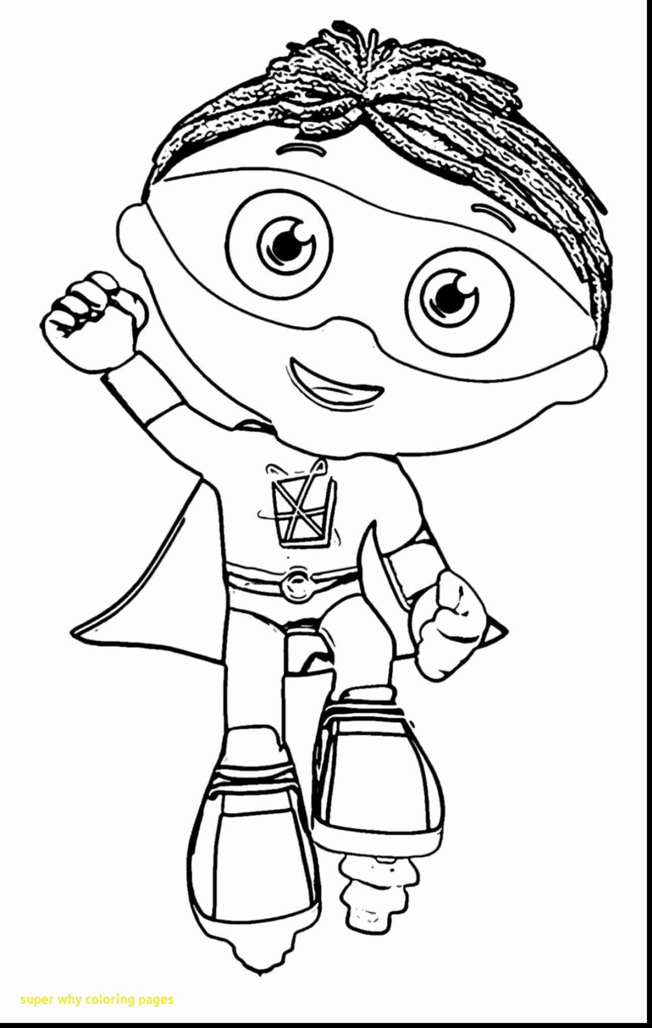 1293x2040 Super Why Coloring Pages With Best Prepossessing Olegratiy