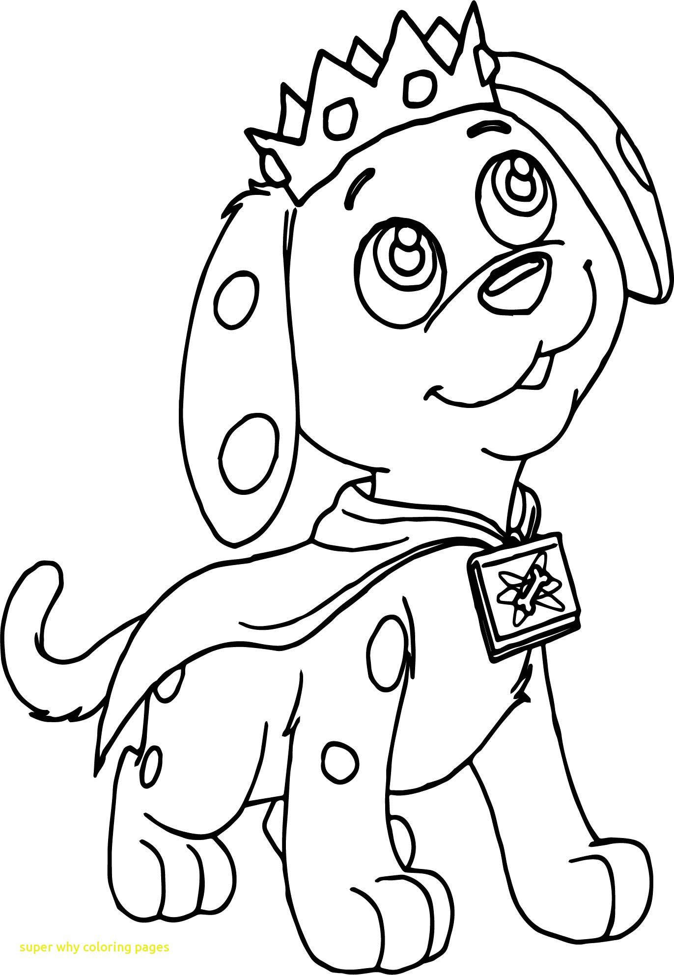 1372x1986 Super Why Coloring Pages With Top For Ribsvigyapan Com Fine