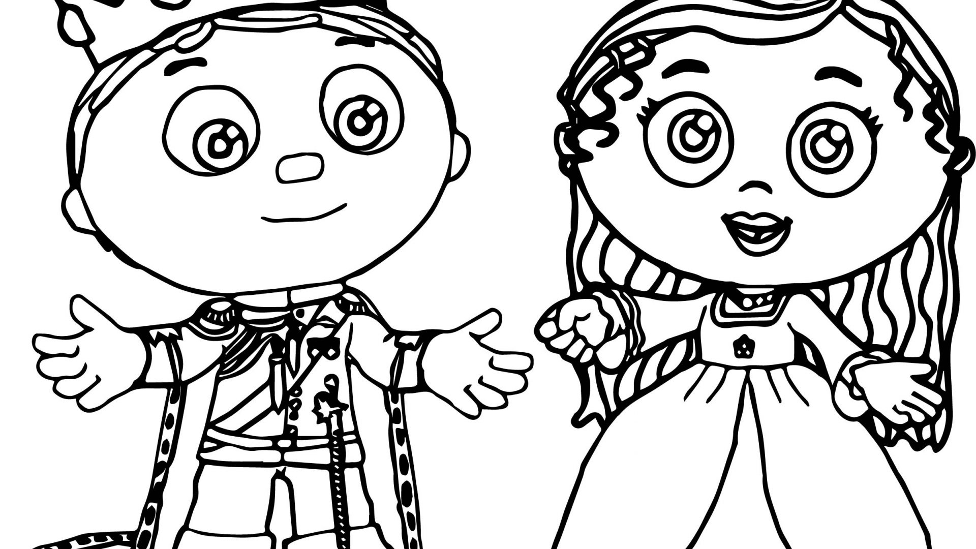 Super Why Coloring Pages Printable at GetDrawings | Free download