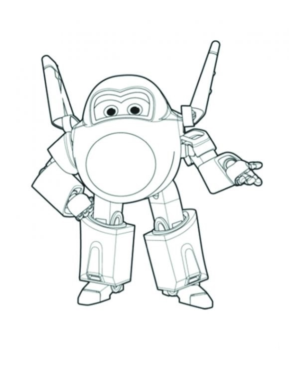 Super Wings Coloring Pages At Getdrawings Free Download