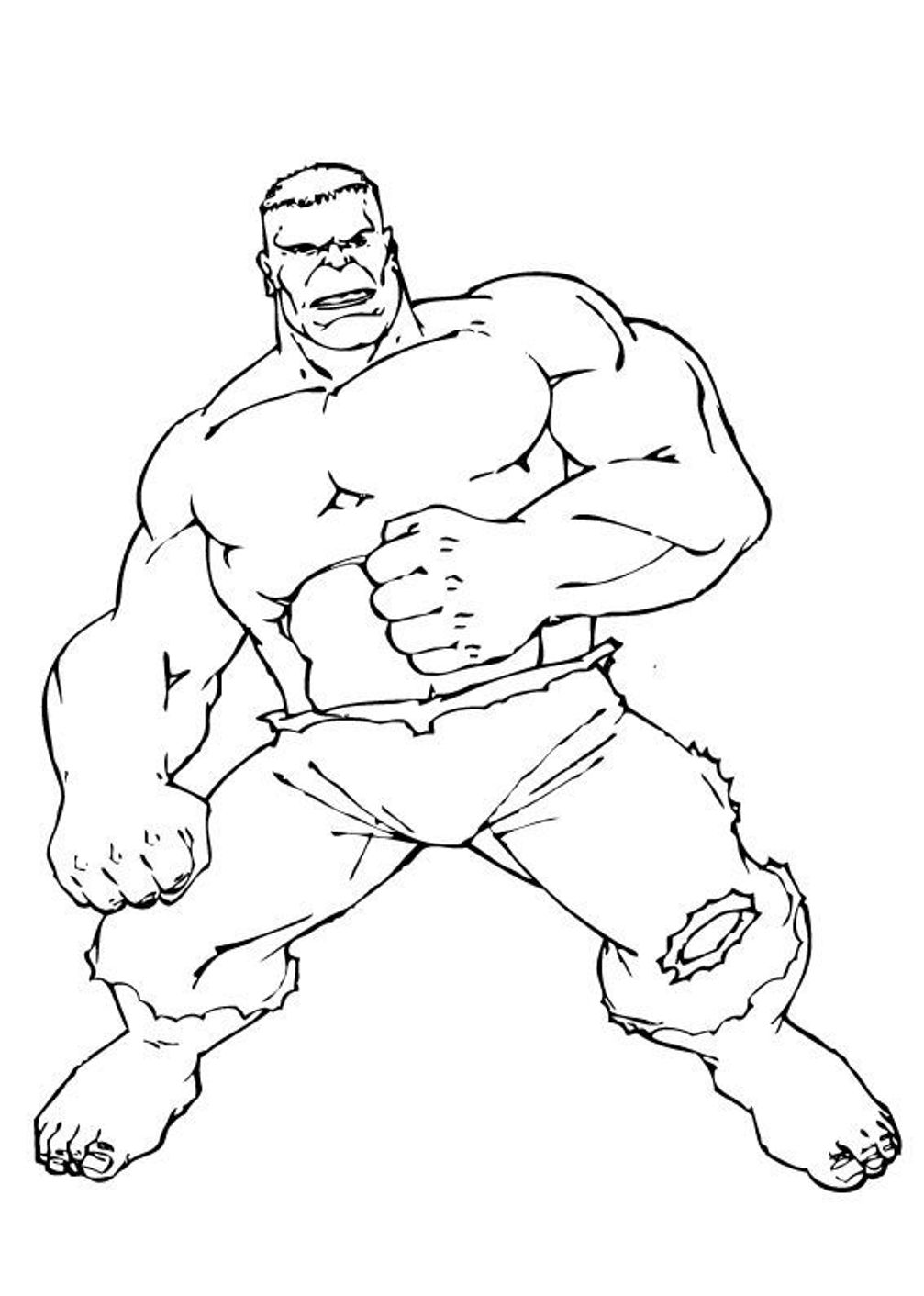 1007x1412 Hulk Cartoon Coloring Pages Download And Print For Free