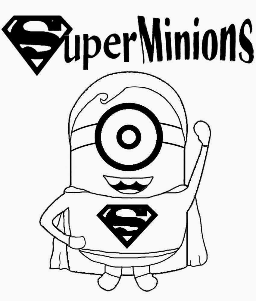 850x1000 Minion Printable Coloring Page Childrens Film Free Clipart Cartoon