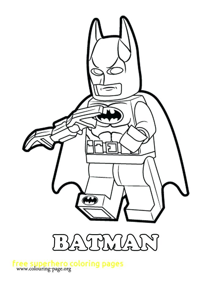 700x918 Coloring Pages Of Superheroes Free Superhero Coloring Pages