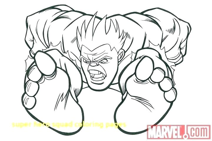 720x480 Coloring Pages Online Best Super Hero Squad Coloring Page Online