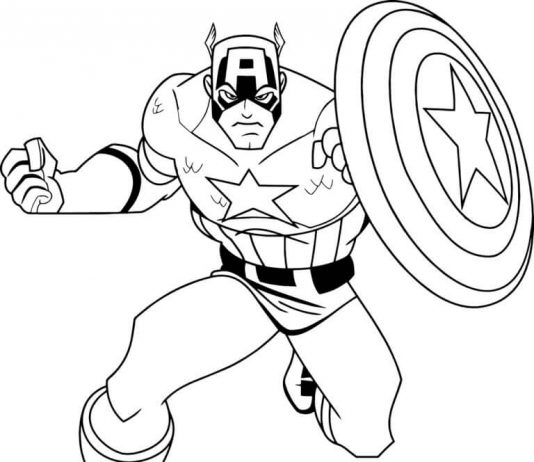 534x462 Superhero Coloring Pages Lovely Superhero Coloring Pages