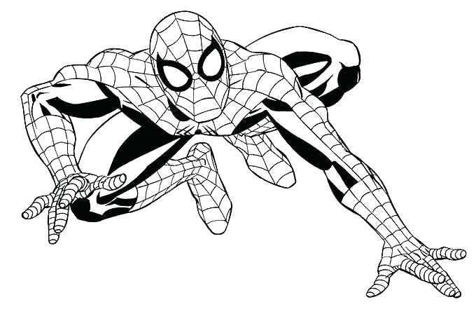 Superhero Coloring Pages at GetDrawings.com | Free for personal use ...
