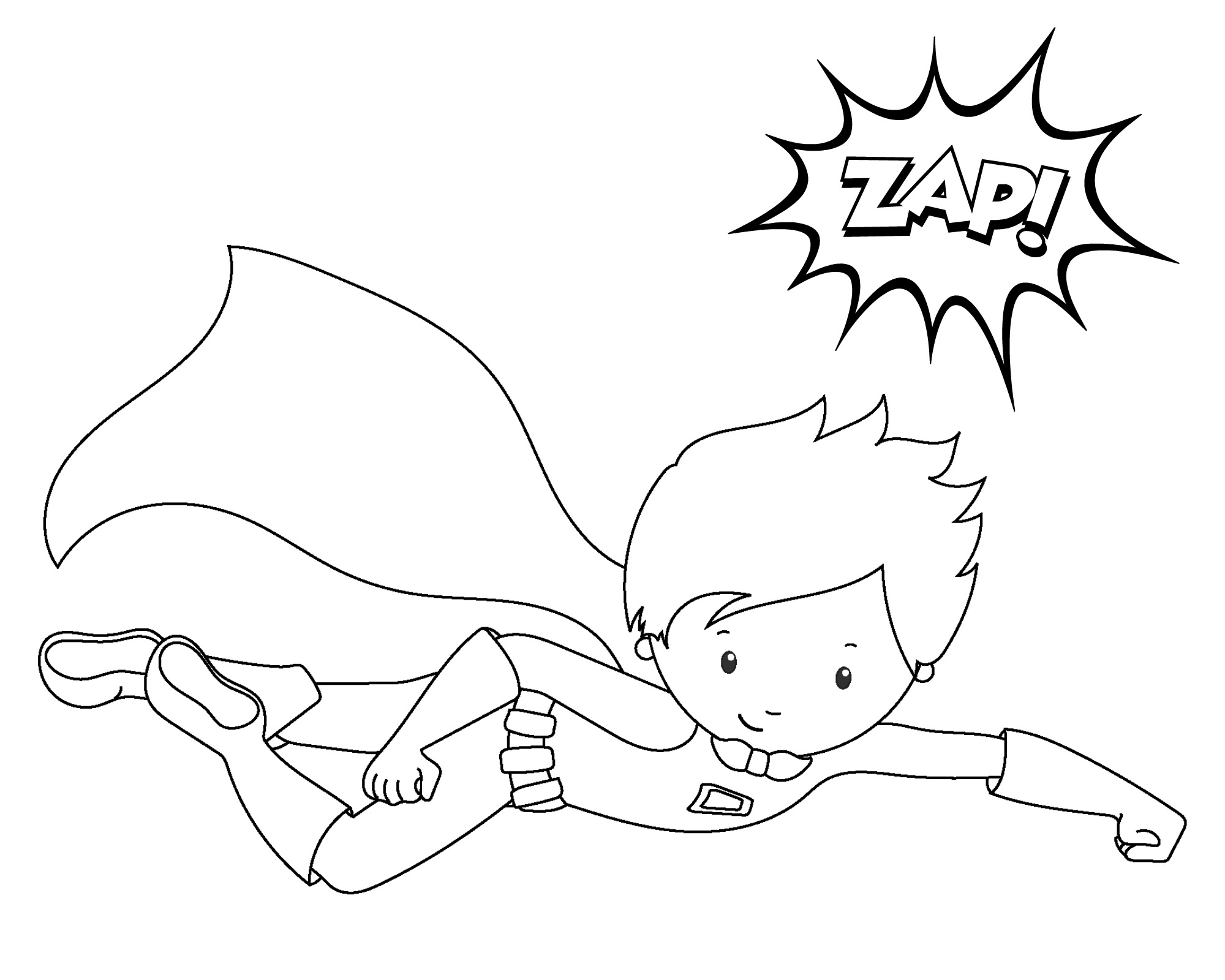 2000x1600 Spectacular Idea Superhero Coloring Page Pages To Print For Adults