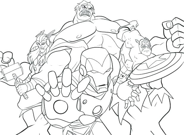 618x456 Free Superhero Coloring Pages Superhero Free Coloring Pages Free