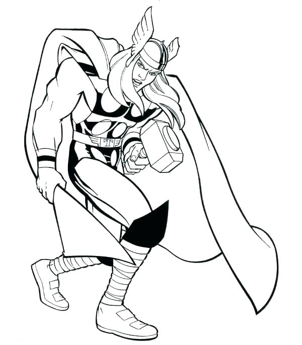 600x686 Super Hero Coloring Pages Printable Coloring Pages Superheroes