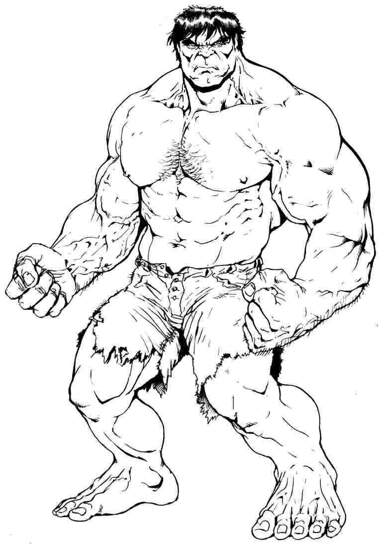 768x1094 Best Free Superhero Coloring Pages Image Printable Marvel