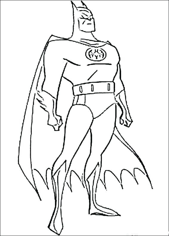 567x794 Free Printable Superhero Coloring Pages For Kids Funny Draw Paint