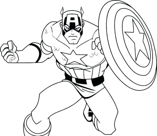 534x462 Super Hero Color Pages Lovely Superhero Coloring Pages