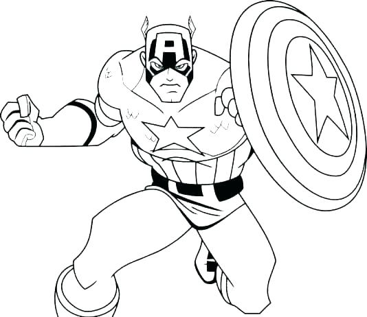 534x462 Super Heroes Color Pages Printable Coloring Pages Superheroes Free