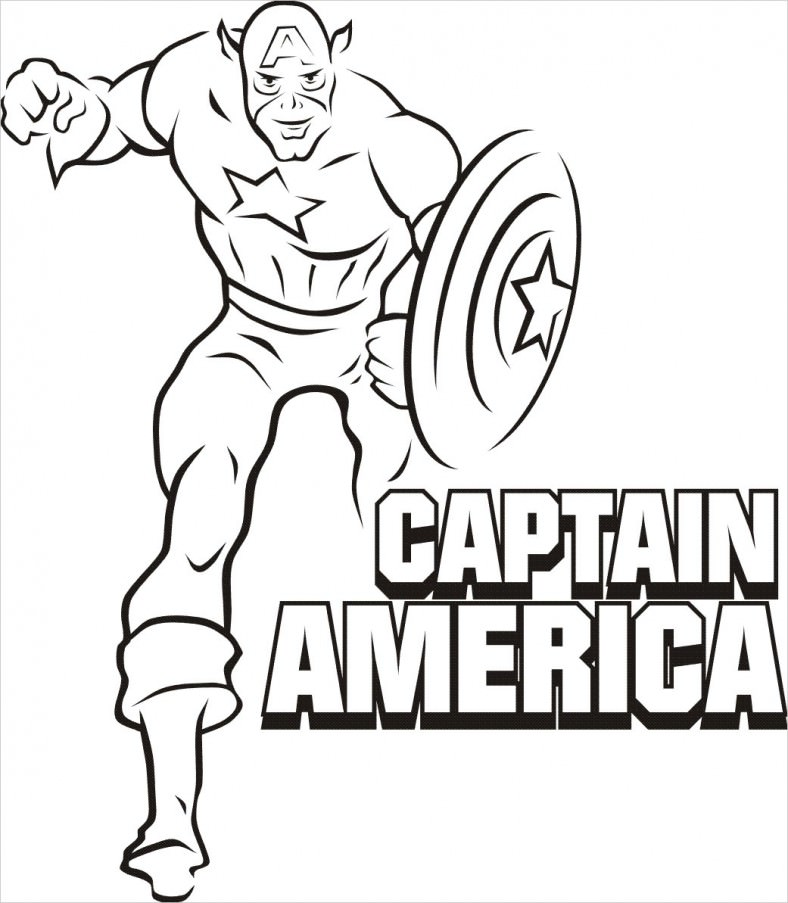 788x903 Superhero Coloring Pages