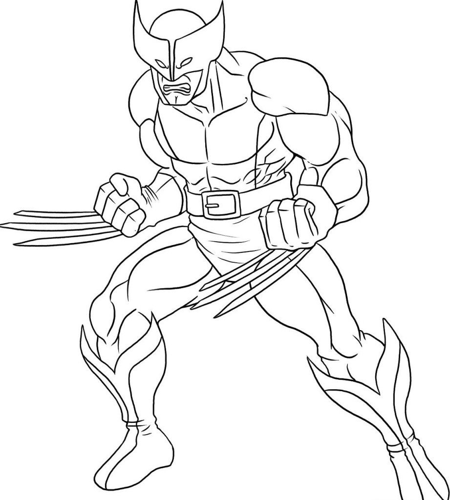 921x1024 Superhero Coloring Pages Printable