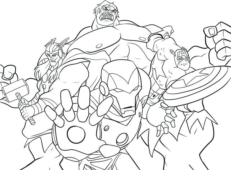 736x542 Superhero Colouring Pages Printables Free Printable Marvel