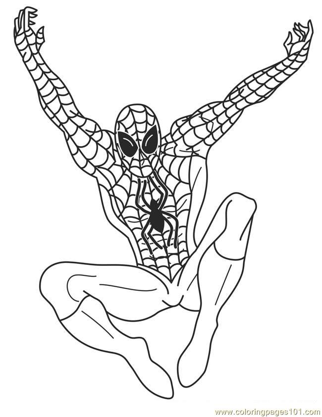 650x842 Best Superhero Coloring Pages Printable