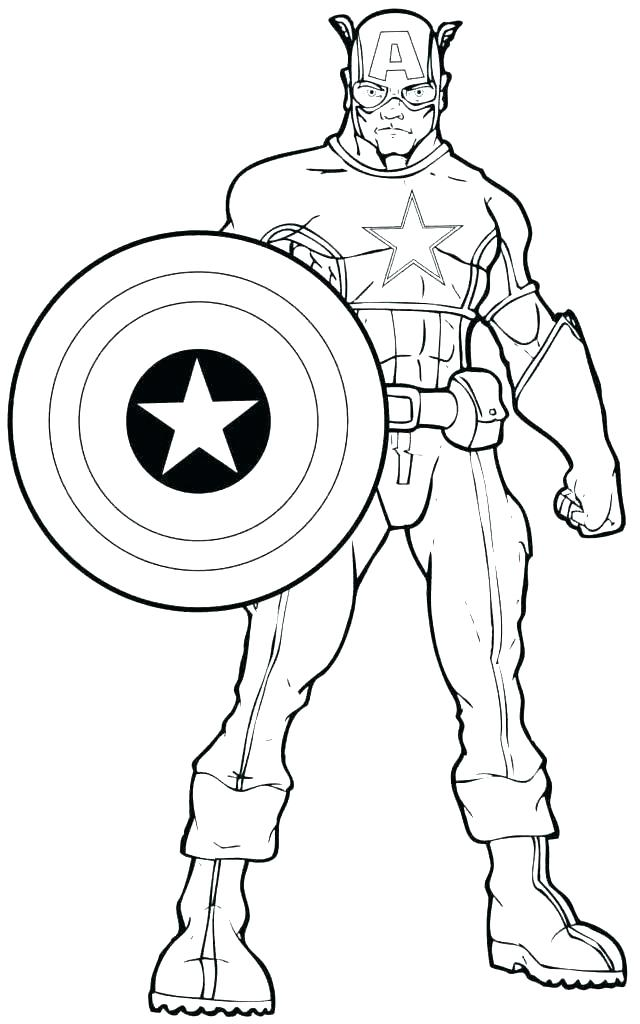 640x1024 Superhero Coloring Pages Printable