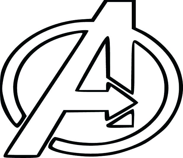 618x534 New Superhero Logos Coloring Pages For Wonder Superhero Logo