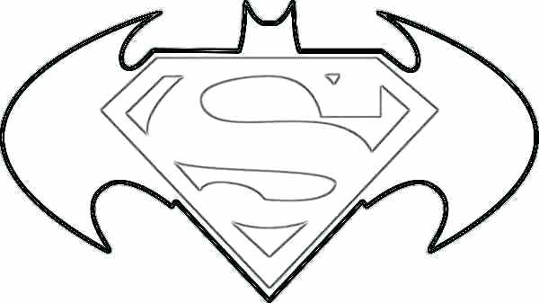 Superhero Logos Coloring Pages at GetDrawings com | Free for