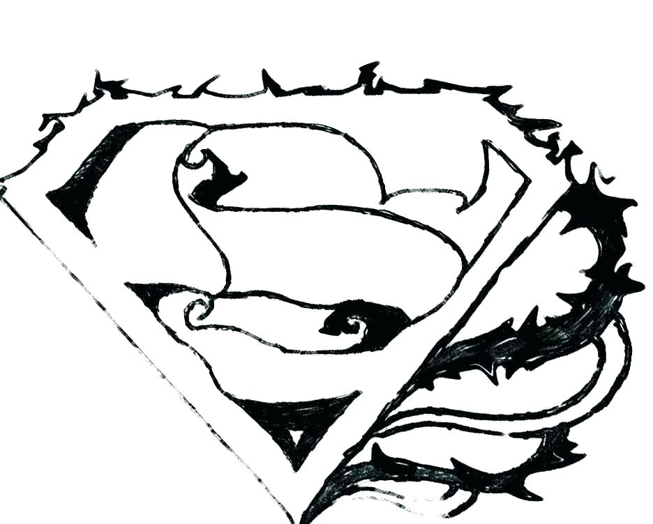 936x752 Batman Symbol Color Pages Superhero Logo Coloring Pages Also