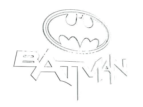 500x375 Superhero Logo Colouring Pages Kids Coloring Batman Symbol
