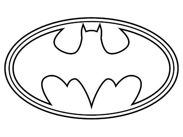 600x450 Superhero Logos Coloring Pages Superhero Symbol Coloring Pages