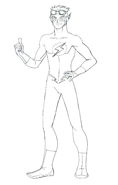 381x600 The Flash Coloring Pages Superhero Symbols Coloring Pages Flash