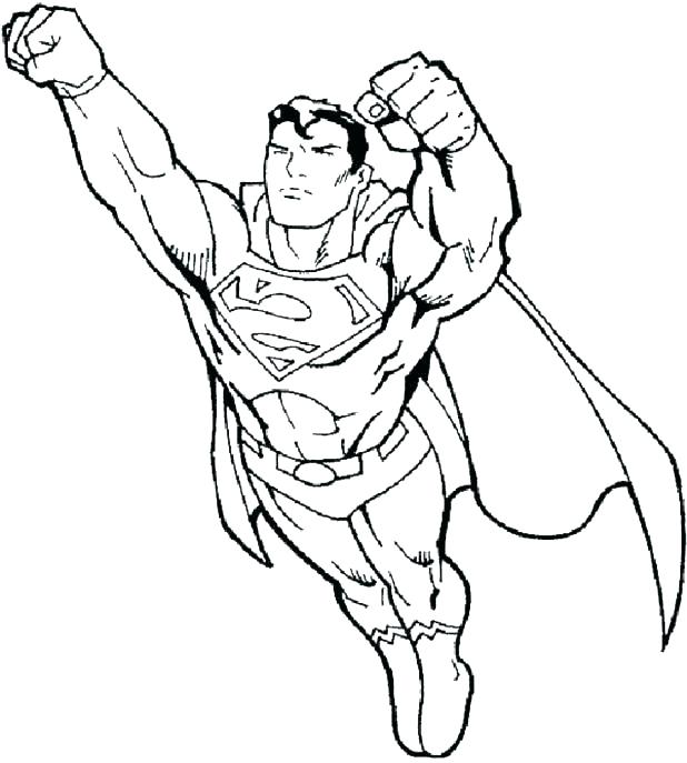 618x687 Superhero Symbols Coloring Pages