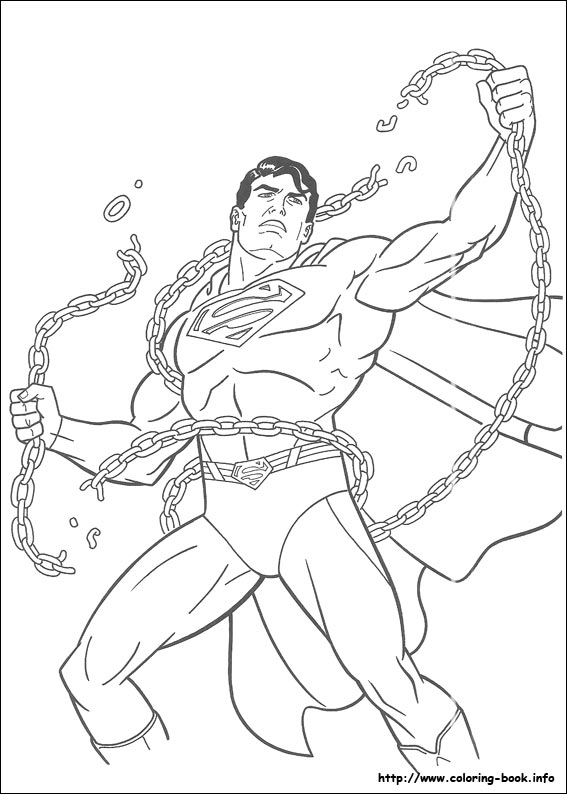 567x794 Superman Cartoon Coloring Pages Superman Coloring Pages