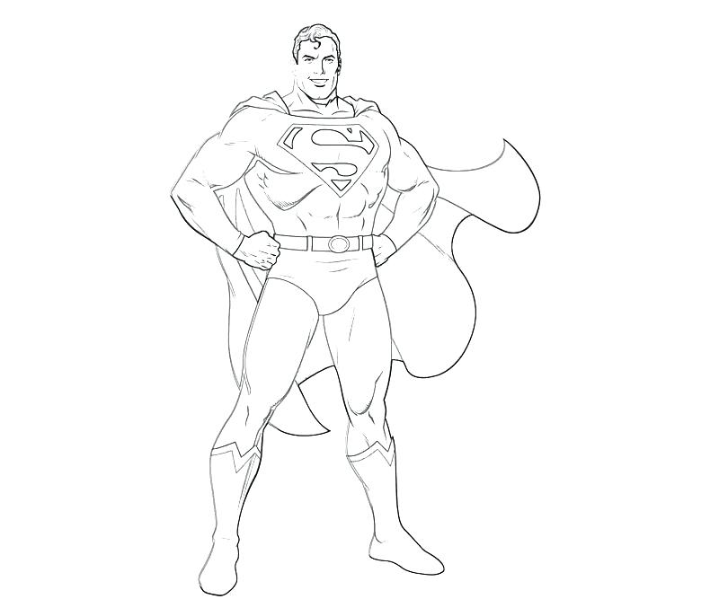 800x667 Coloring Pages For Kids Online Superman Cartoon Pictures Cute
