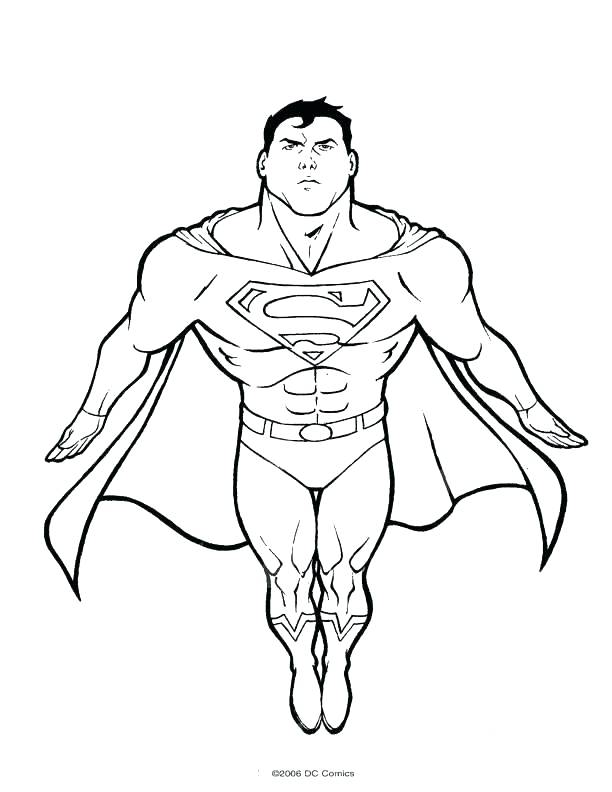 612x792 Lego Superman Coloring Pages Superman Coloring Pages To Print