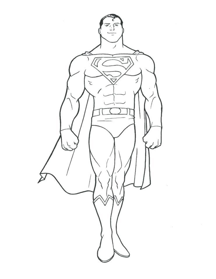 741x960 Superman Color Page Online Superman Coloring Pages Superman