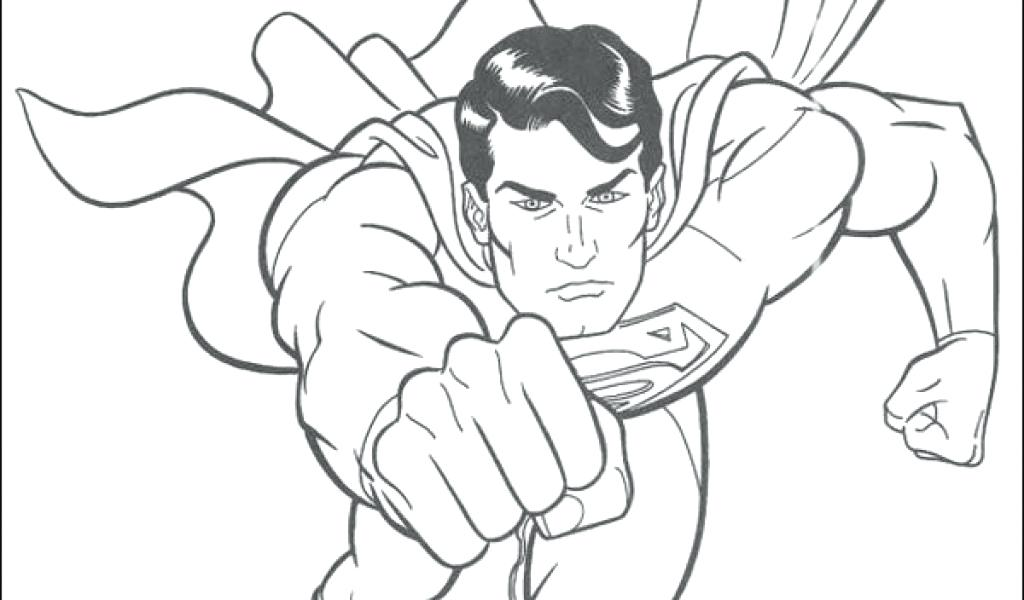1024x600 Free Printable Superman Coloring Pages Free Superhero Coloring
