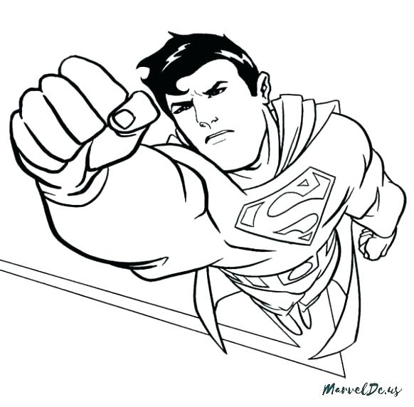 582x572 Lego Superman Coloring Pages Free Superman Coloring Pages Superman