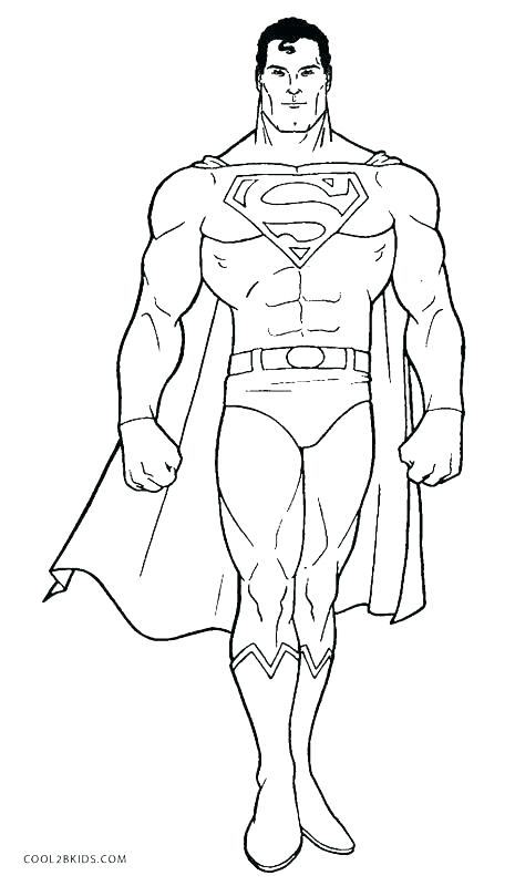 465x800 Superman Coloring Page Superman Coloring Pages Printable Super Man