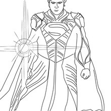 220x220 Superman Coloring Pages