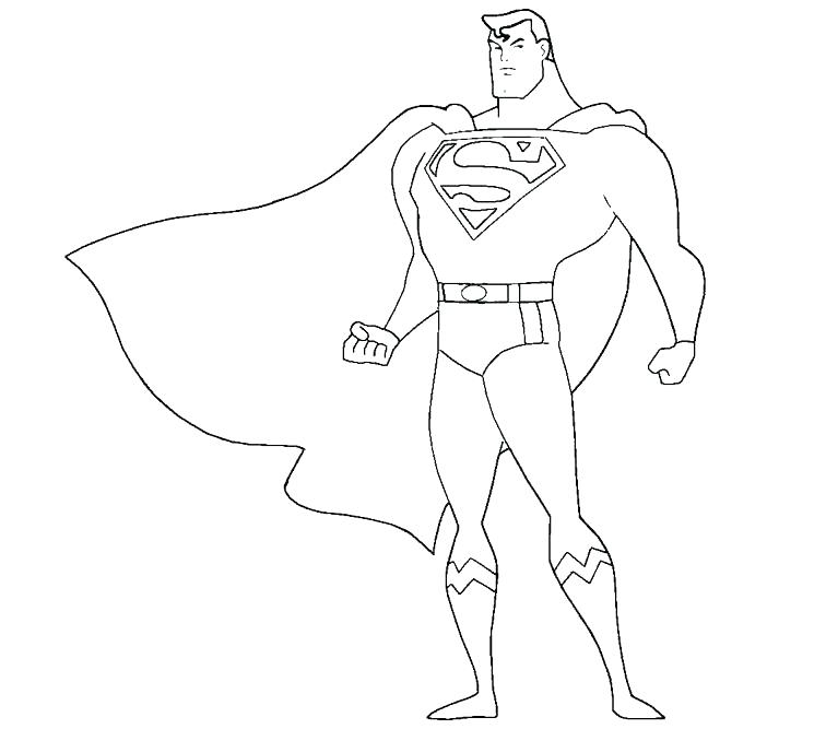 756x667 Coloring Pages Superman Superman Coloring Pages Plus Superman