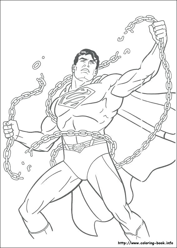 567x794 Printable Superman Coloring Pages Coloring Book Superman Coloring
