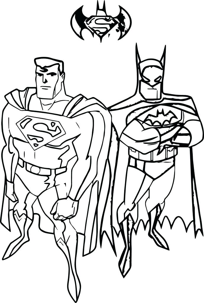 690x1024 Printable Superman Coloring Pages Superman Free Coloring Pages