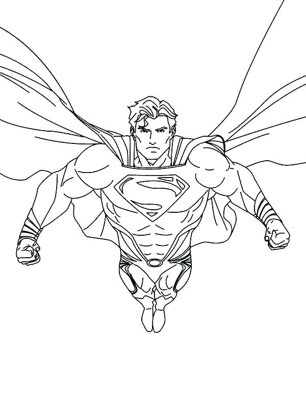 600x776 Superman Coloring Book Superman Coloring Sheets Printable Superman