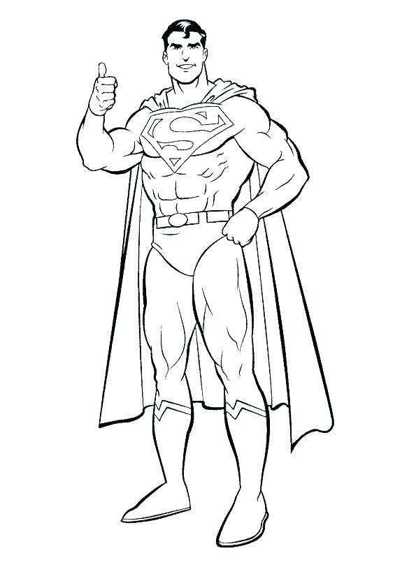 595x822 Coloring Pages Superman Batman Vs Superman Colouring Pictures