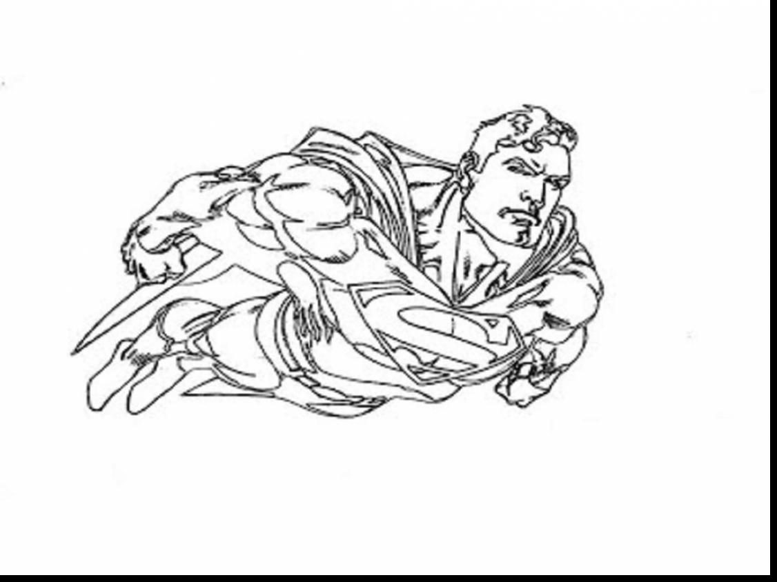 1126x844 Superman Flying Coloring Pages