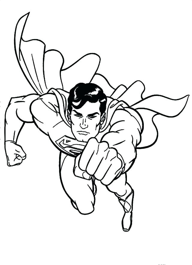 640x881 Superman Flying Coloring Pages Printable Me Dragonfly Page