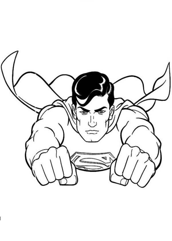 600x840 Superman Coloring Pages To Download And Print For Free