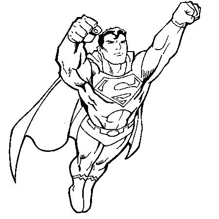 450x450 Dessin Superman A Colorier Superman