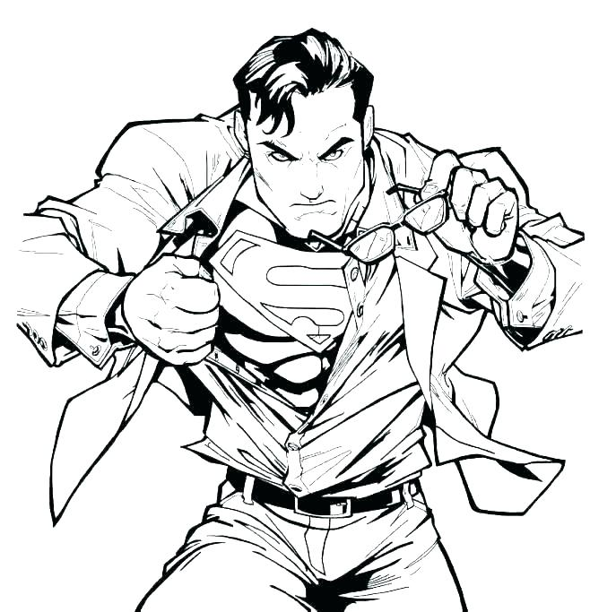 687x683 Lego Superman Coloring Pages Superman Coloring Pages Superman Logo