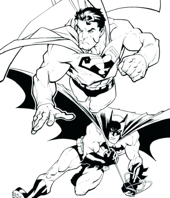 588x683 Superman Color Pages Superman Emblem Coloring Sheet Super Man