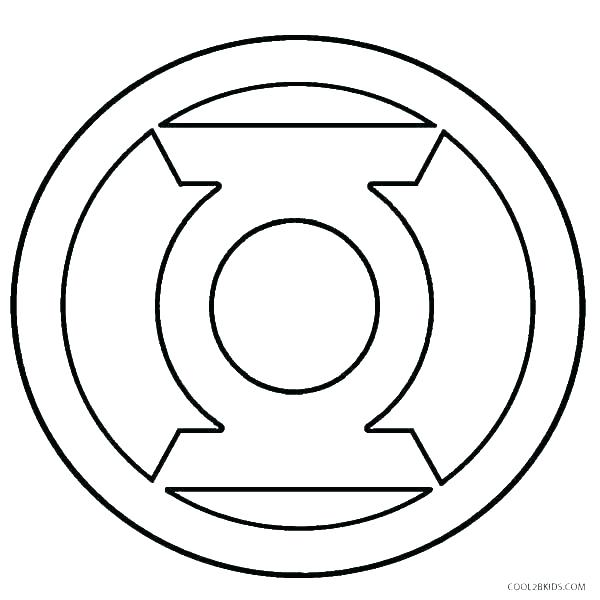 600x600 Batman Vs Superman Symbol Coloring Pages